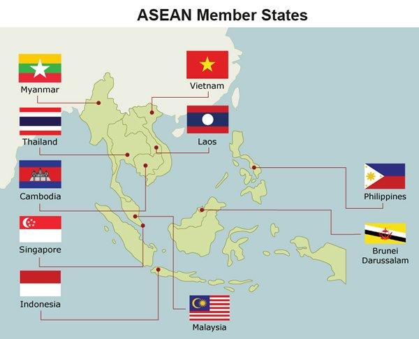 Map: ASEAN Member States