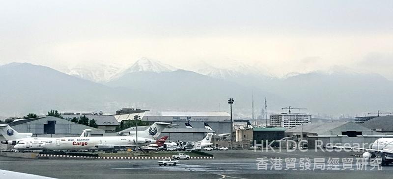 图: 德黑兰梅赫拉巴德国际机场。