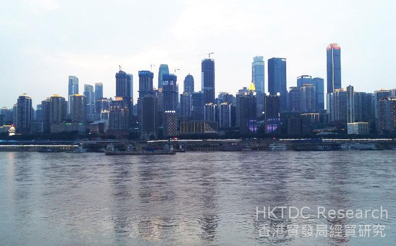 Photo: The Chengdu-Chongqing district is the bridgehead for the western region