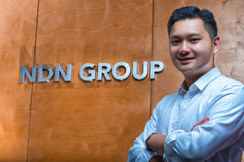 Photo: Andy Ann, CEO of NDN Group