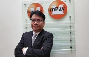Photo: Sam Lam, Founder and Chief Executive of mPay