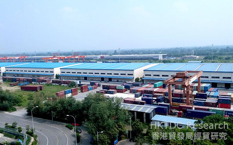 Photo: Logistics efficiency in the Chengdu-Chongqing region is improving. (2)