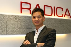 Photo: Francis Kwok, co-founder of Radica Systems.