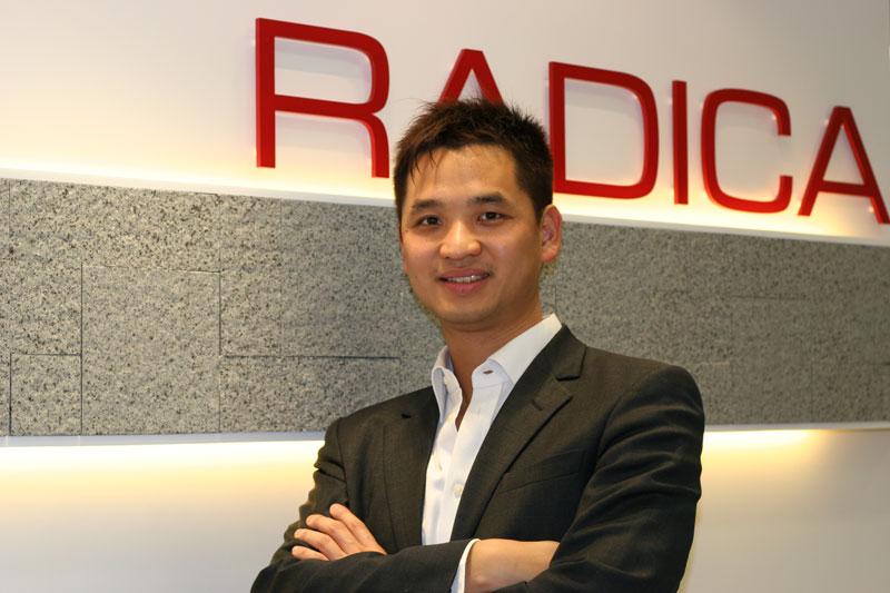 相片:雷克系统联合创办人郭正光。