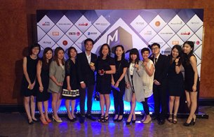 相片:雷克系统荣获《Marketing Magazine》颁发2014年度市场营销机构金奖和本地英雄奖。