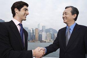 相片:重慶對外經貿(集團)有限公司尋求更多香港的專業服務。