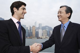 Photo: Chongqing Foreign Trade Group is keen to seek Hong Kong's professional services.