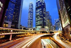 相片:香港是内地企业投资海外的首选服务平台。