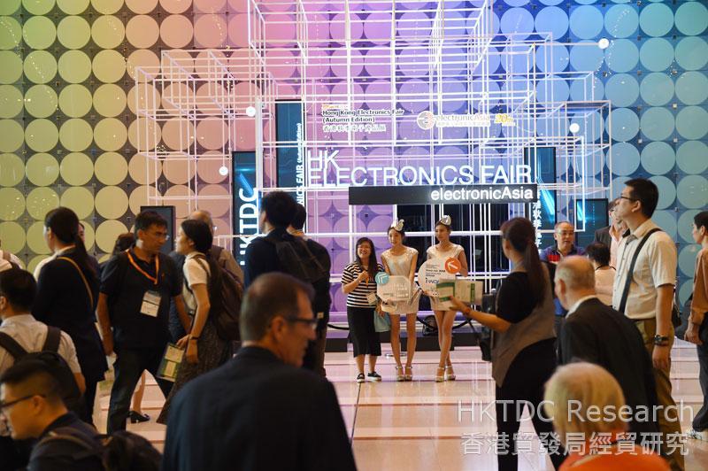 相片:香港秋季電子產品展2016。