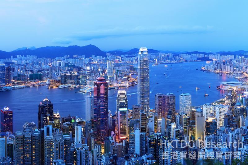 相片:香港是内地企业发掘「一带一路」商机的服务平台。