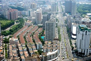 Photo: The Dongguan city.