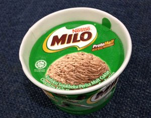 Photo: Made-in-Malaysia: Ice-cream with the JAKIM halal logo.