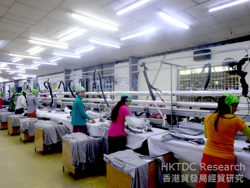 Photo: A Chinese-owned garment factory in Phnom Penh.