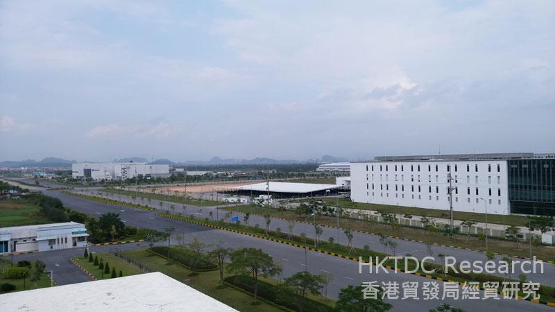 Photo: An industrial park located at Hai Phong (1).