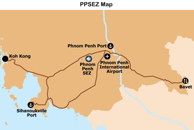 Map: PPSEZ Map