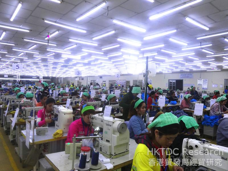 Photo: A Chinese-invested garment factory in the PPSEZ.