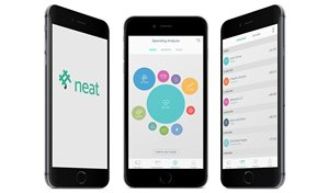 Picture: Neat mobile app: Helping users keep track of their spending.