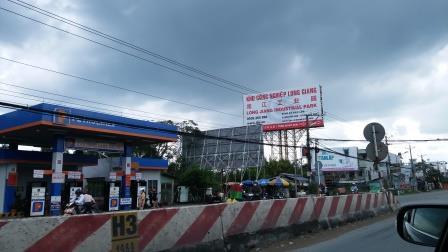 图:越南龙江工业园周边环境。
