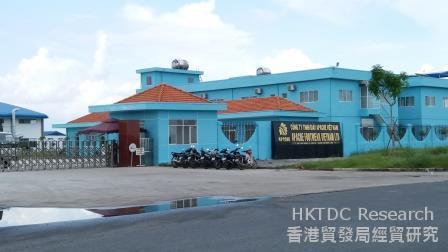 图:越南龙江工业园内企业(一)。