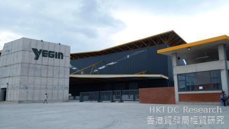 图:越南龙江工业园内企业(二)。