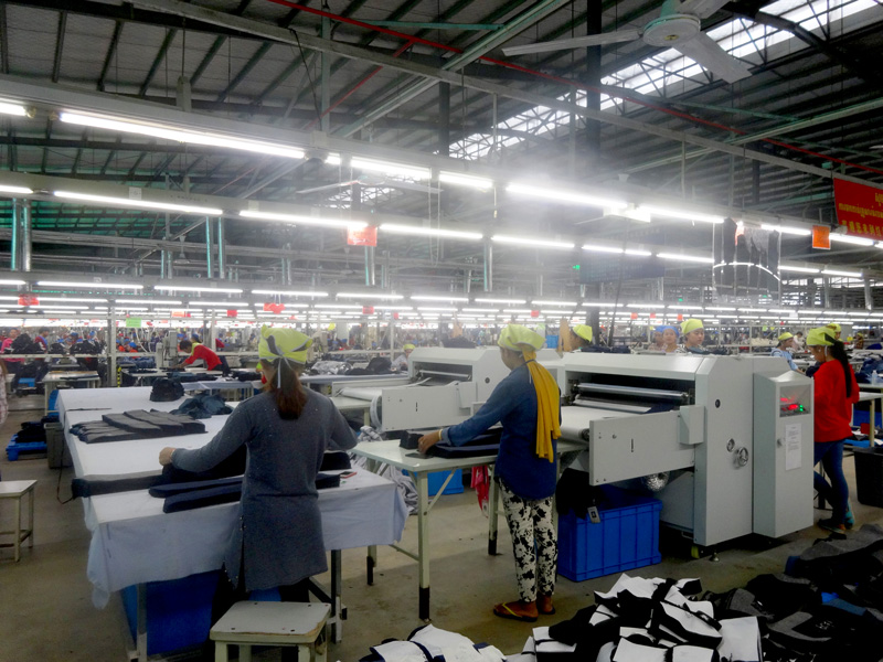 Photo: Hodo Group runs production lines in the SSEZ.