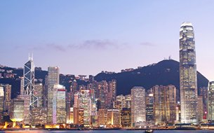 照片:香港协助内地企业处理海外业务。
