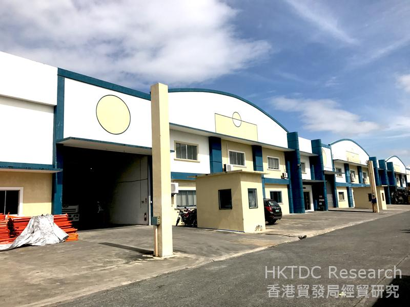 Photo: Inside a privately developed industrial park in Cavite with PEZA zone status.