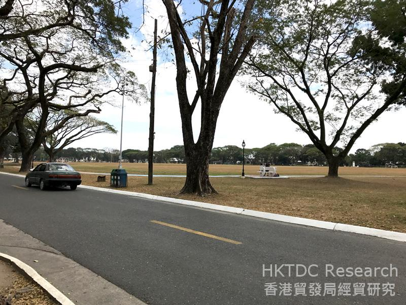 Photo: Green environment in the Clark Freeport Zone.