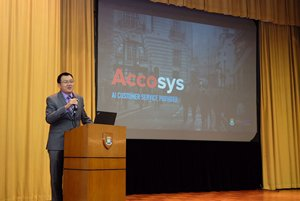 Photo: Miles Wen, Co-founder and CEO of Accosys.