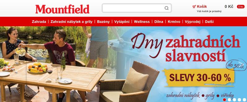 相片:1991年,Mountfield在鄰近布拉格的Mnichovice開設第一家店舖,至今已擴展至56間,成為捷克市場數一數二的自行組裝(DIY)產品連鎖店。