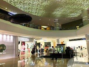 圖: 不少外國品牌進駐馬尼拉的高端購物商場。
