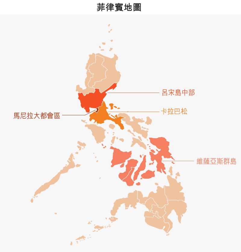 地圖: 菲律賓