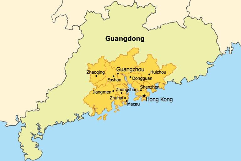 Development Prospects for Guangdong-Hong Kong-Macau Bay Area