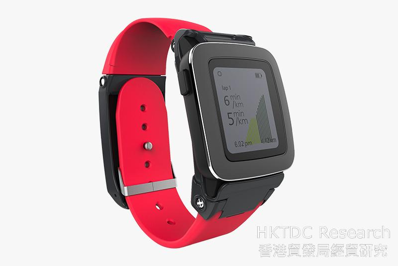 Photo: Powerstrap developed the world's first GPS and battery extender Smart-strap for smart-watches