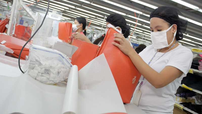 Photo: Production lines set up by Luen Thai in Vietnam. (Photograph provided by Luen Thai)