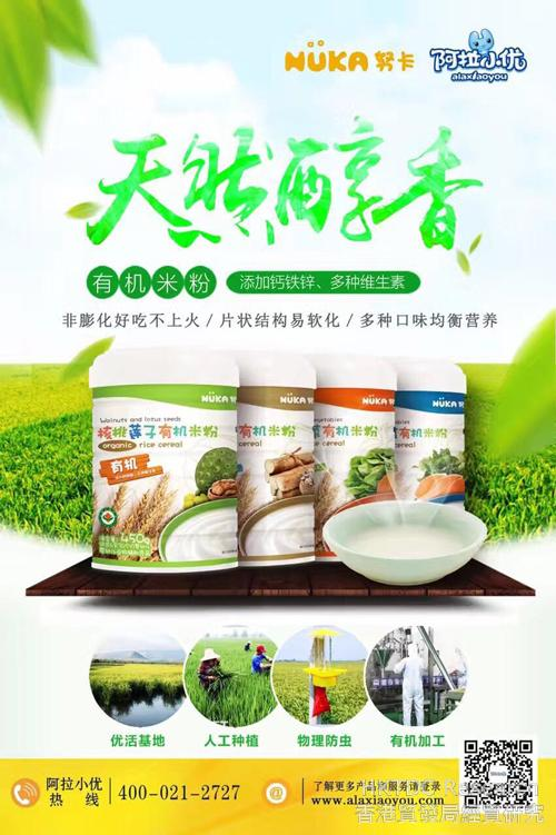 Photo: Agency brand Nuka milk powder.