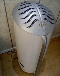 相片:雅威的空氣淨化產品。