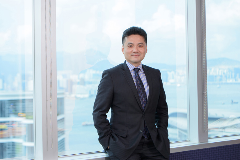 Photo: Patrick W Yip pointed out that the scope of professional services required for investment in infrastructure projects is different from the general projects (1). (Photograph provided by Deloitte China.)