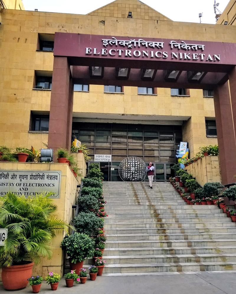 相片: 印度电子与资讯科技部(2) 。