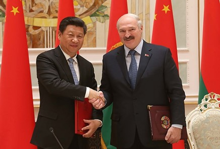 相片:中國國家主席習近平多次強調,中國視白羅斯為共建「一帶一路」的重要合作夥伴。