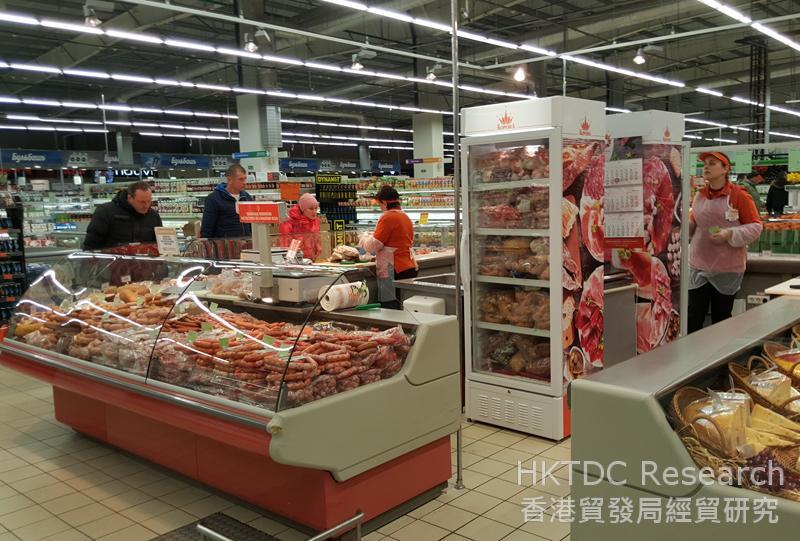 相片:白罗斯是首个获准向中国内地市场出口肉类的独联体国家。