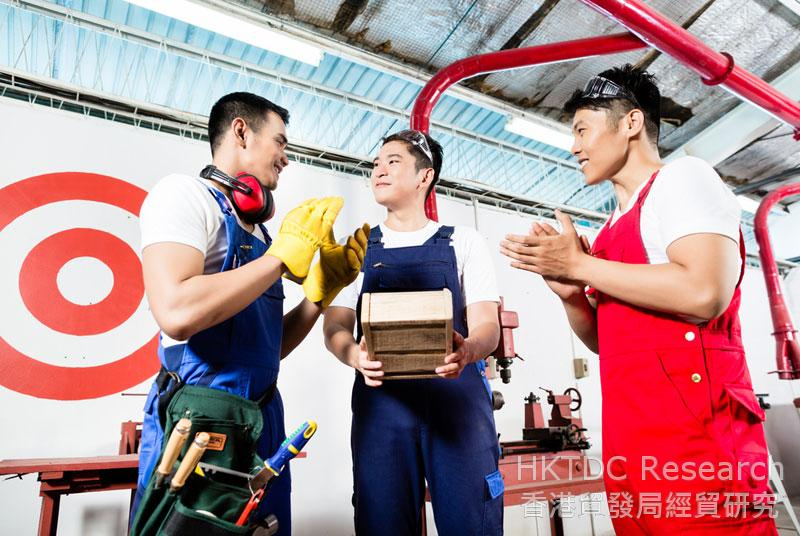 The Chinese government encourages enterprises to make improvements in supply chain management.