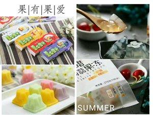 相片:「果有果愛」的果醋果凍產品。