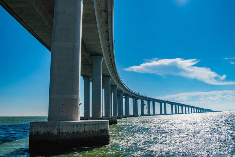Photo: The Hong Kong-Zhuhai-Macau Bridge allows an easier flow of people and cargo in the Bay Area (1).