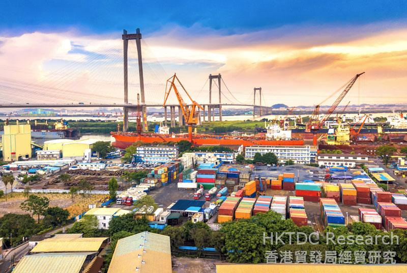 Photo: Efficiency of China's logistics industry still lags behind those in developed countries (1).