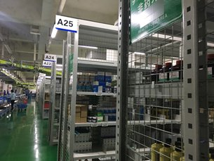 相片:分撥倉庫。