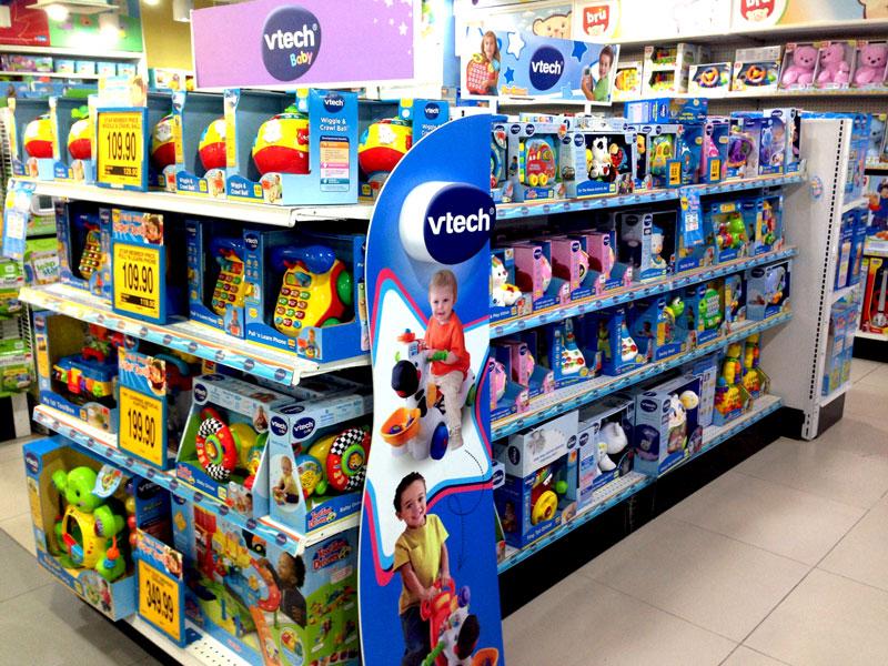 相片: 玩具連鎖店的啟蒙玩具。