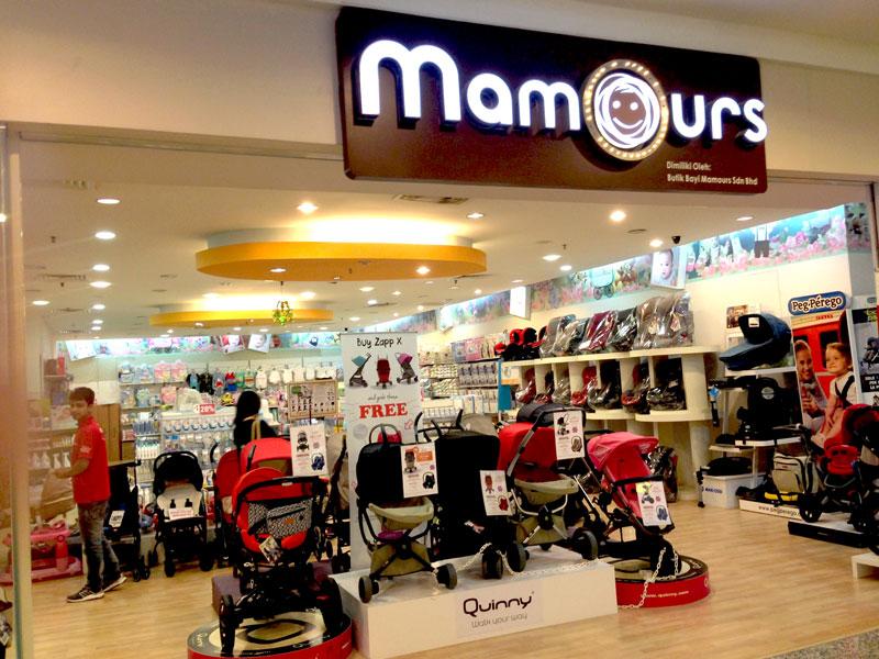 相片: 婴儿产品专门店以售卖欧洲品牌产品为主。