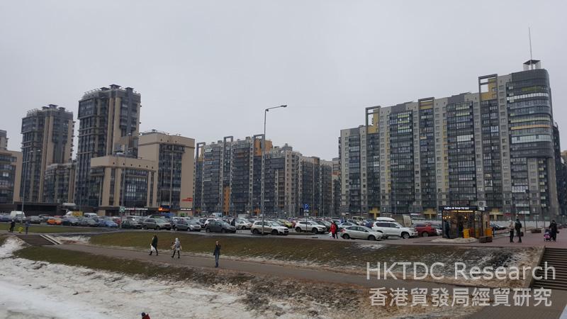 相片:波罗的海明珠项目是中国至今在俄罗斯的最大型非能源类投资项目。