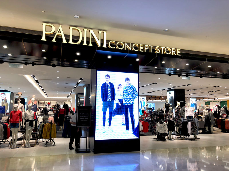 相片: 马来西亚的 Padini Concept Store。